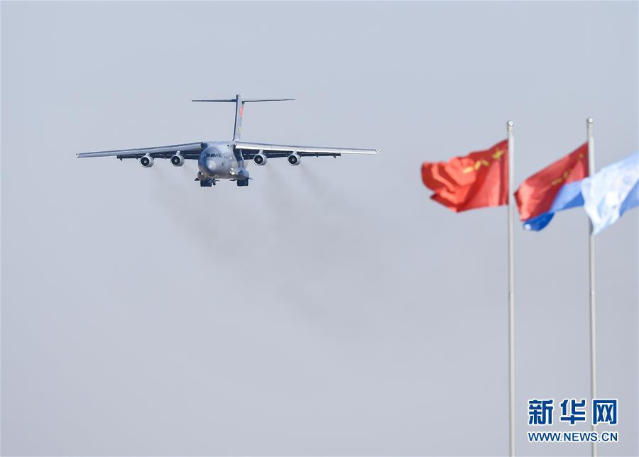 (軍事)(4)殲-20、運-20首次在東北地區進行飛行展示