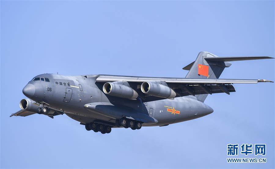 (軍事)(5)殲-20、運-20首次在東北地區進行飛行展示