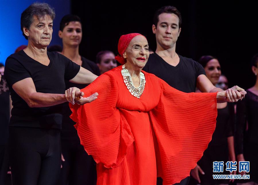 (國際)(1)古巴國寶級芭蕾舞大師阿莉西亞·阿隆索逝世