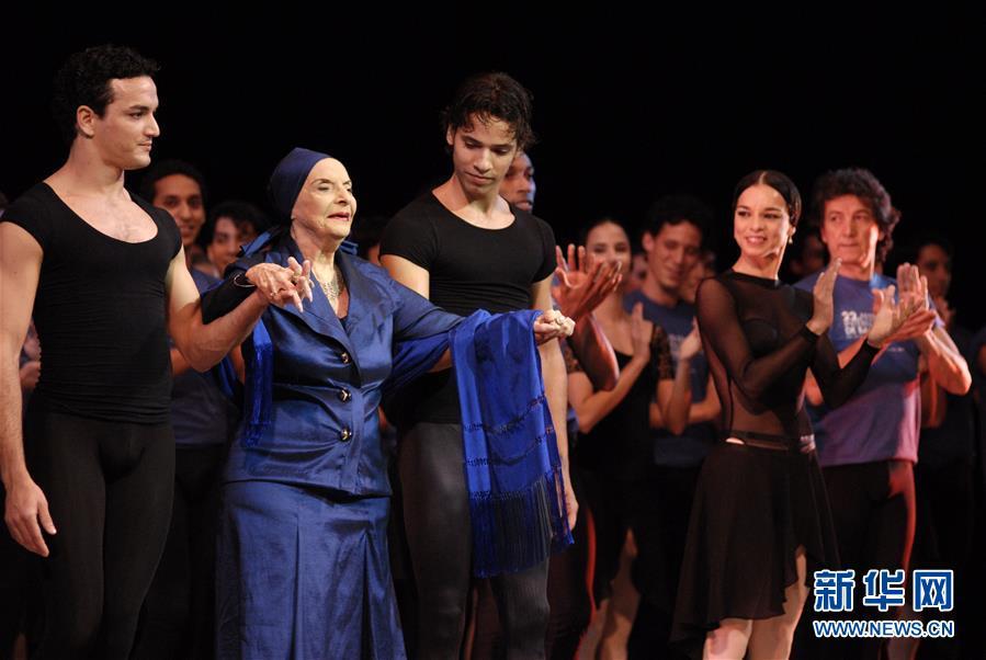 (國際)(2)古巴國寶級芭蕾舞大師阿莉西亞·阿隆索逝世