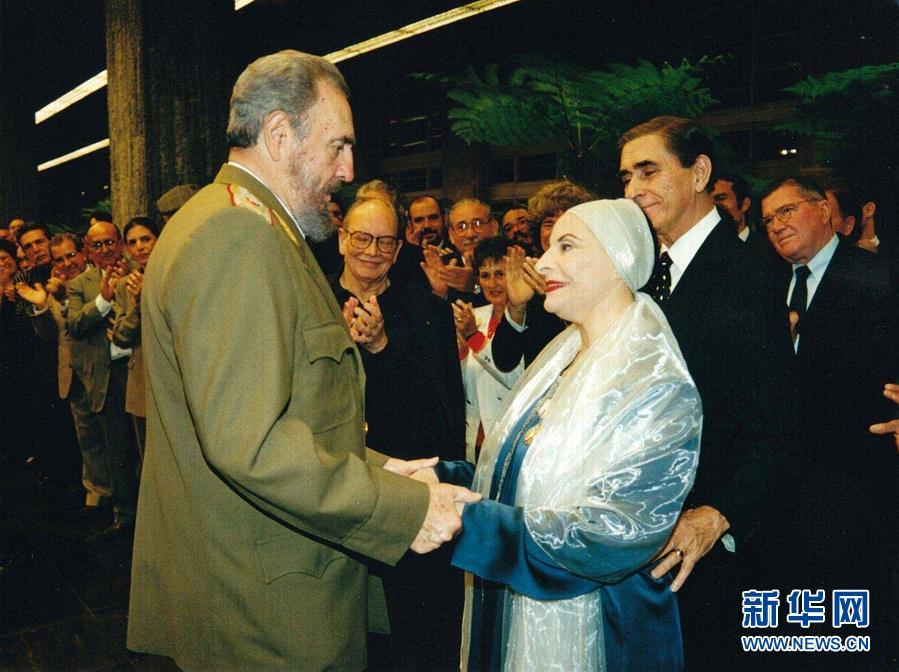 (國際)(3)古巴國寶級芭蕾舞大師阿莉西亞·阿隆索逝世