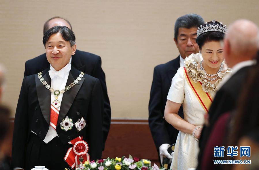 (國際)(3)日本天皇正式宣告即位