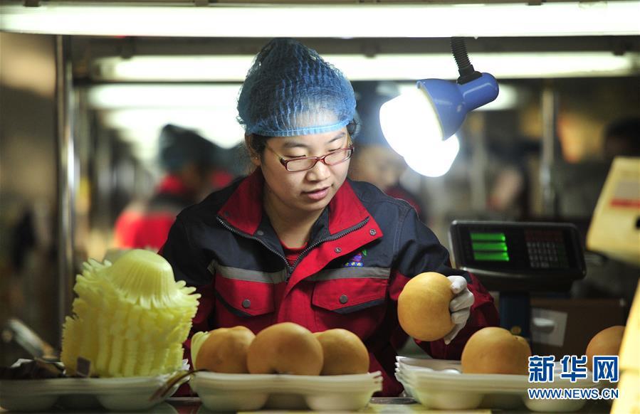 (经济)(3)河北泊头:梨果俏海外