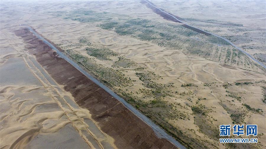 (新華全媒頭條·圖文互動)(3)大漠小城的絕地反擊