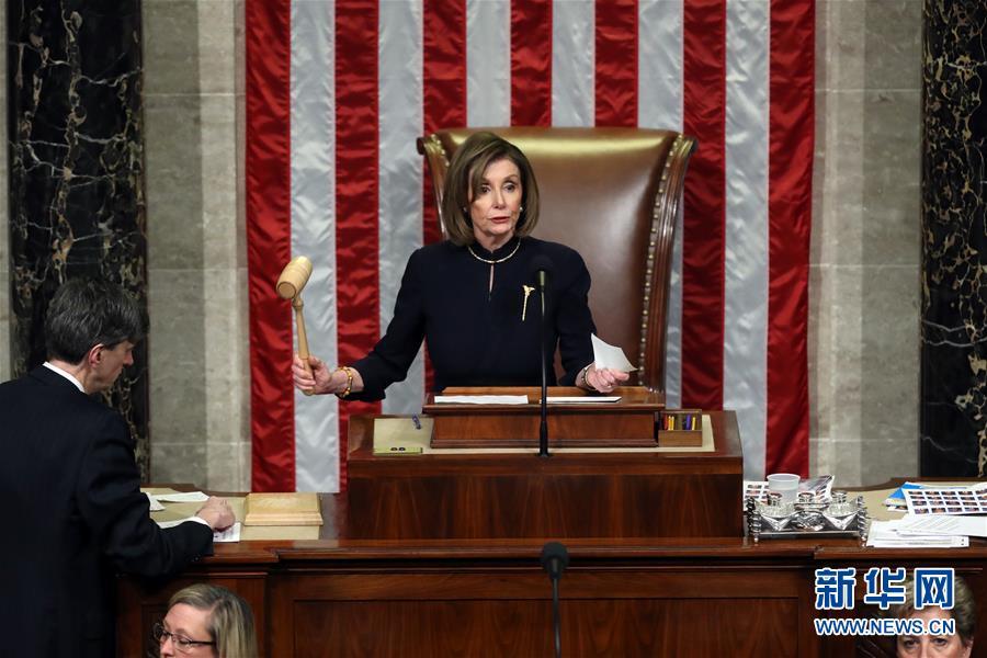 (國際)(5)美國國會眾議院表決通過兩項針對總統特朗普的彈劾條款