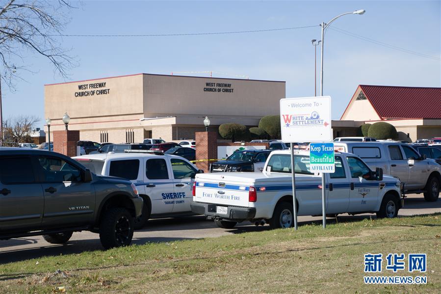 (國際)(1)美國得克薩斯州一教堂發生槍擊事件2人死亡