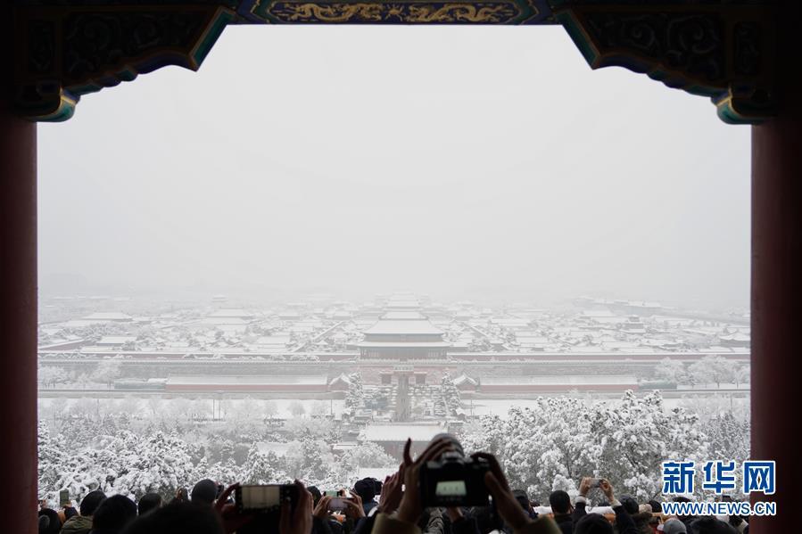 (環境)(6)雪後北京