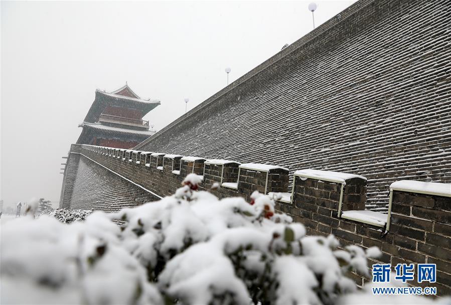 #(環境)(4)河北石家莊:正定古城賞雪