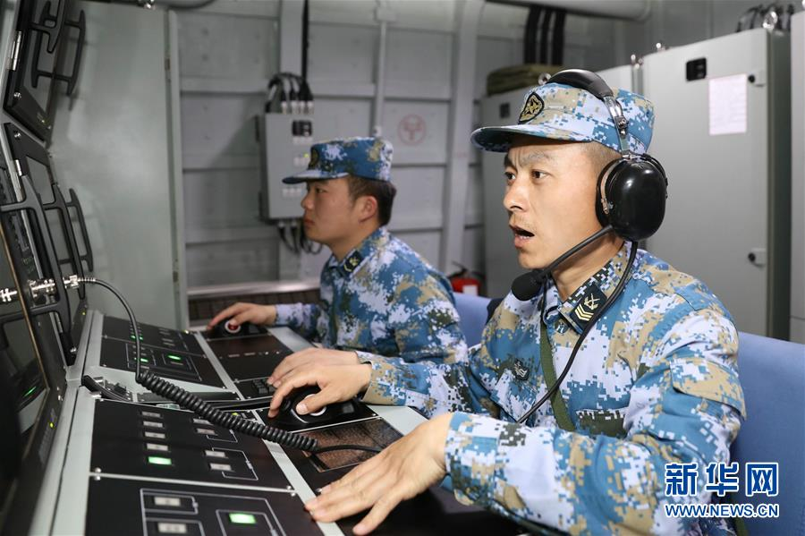(圖文互動)(3)小角色大擔當——海軍黃石艦聚焦備戰打仗記事