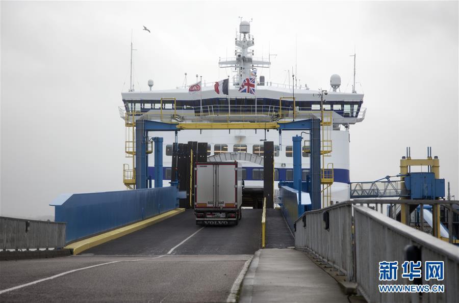"""(國際·圖文互動)(2)不確定的未來——英國""""脫歐""""影響下的法國海港"""