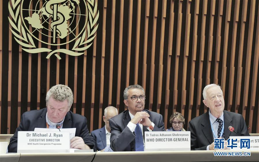 (國際)(2)世衛組織總幹事:中國防控行動避免疫情在其他地區大規模蔓延