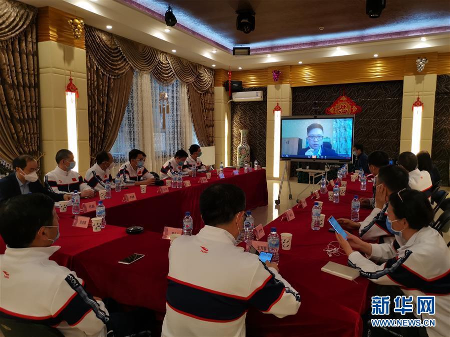 (國際疫情)(1)中國赴烏茲別克斯坦聯合工作組視頻指導華僑華人抗疫
