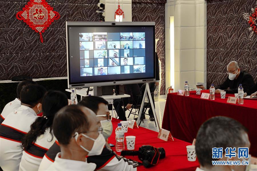 (國際疫情)(2)中國赴烏茲別克斯坦聯合工作組視頻指導華僑華人抗疫