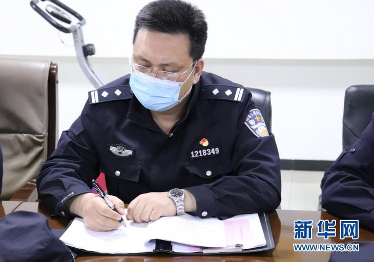 (熱點鮮報·圖文互動)用生命把疫情擋在高墻之外——追記天津監獄警察張治國