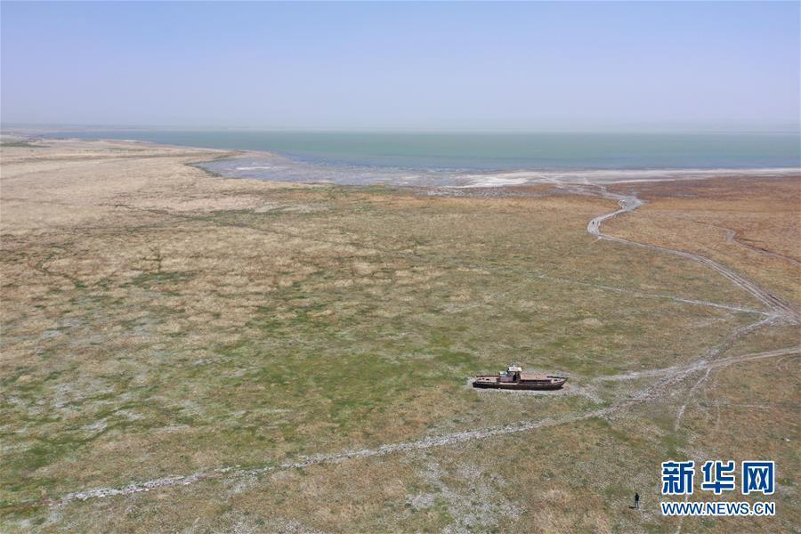(圖文互動)(2)內蒙古岱海生態應急補水工程開工 遏制湖面萎縮改善水質