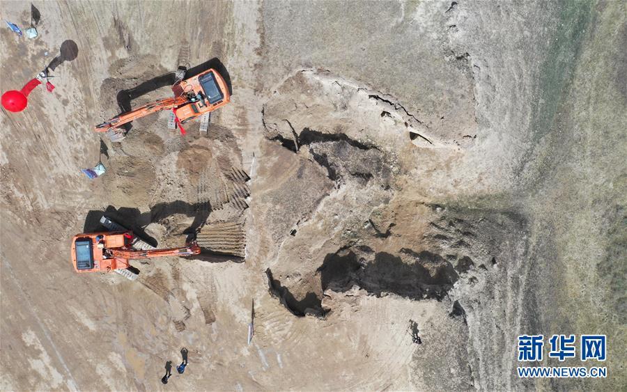 (圖文互動)(3)內蒙古岱海生態應急補水工程開工 遏制湖面萎縮改善水質