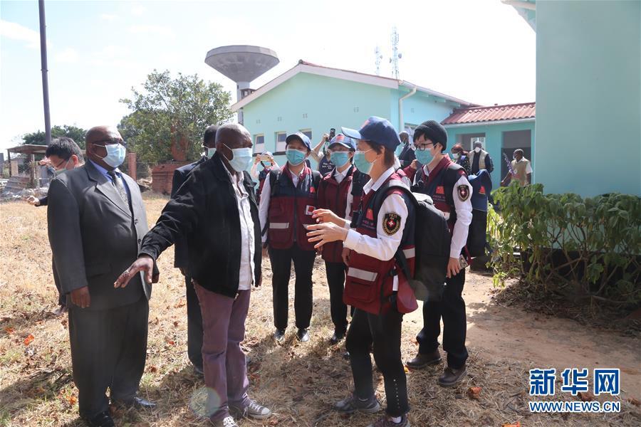 (国际)(6)中国抗疫专家组赴津巴布韦多地交流并捐赠医疗物资