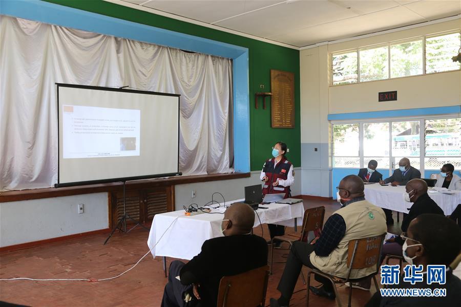(国际)(1)中国抗疫专家组赴津巴布韦多地交流并捐赠医疗物资