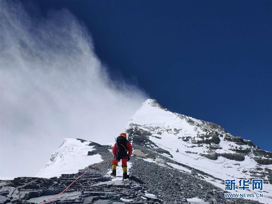 (2020珠峰高程測量)(3)修路隊打通至珠峰峰頂路線
