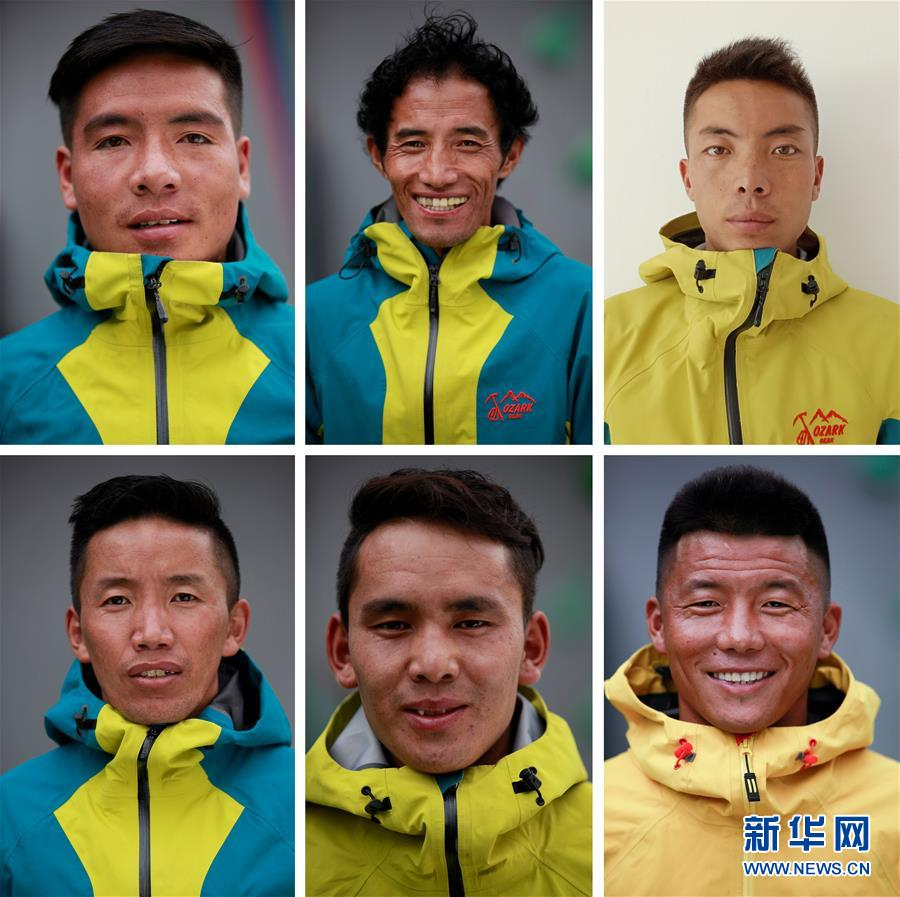(2020珠峰高程測量)(4)修路隊打通至珠峰峰頂路線