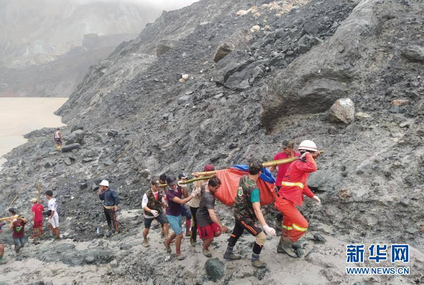 (國際)(5)緬甸北部礦區發生坍塌事故至少96人死亡