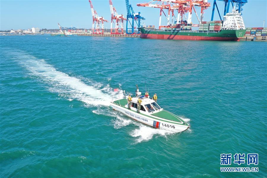 (圖文互動)(1)中國海警海上報警平臺運行一年接警6萬余起