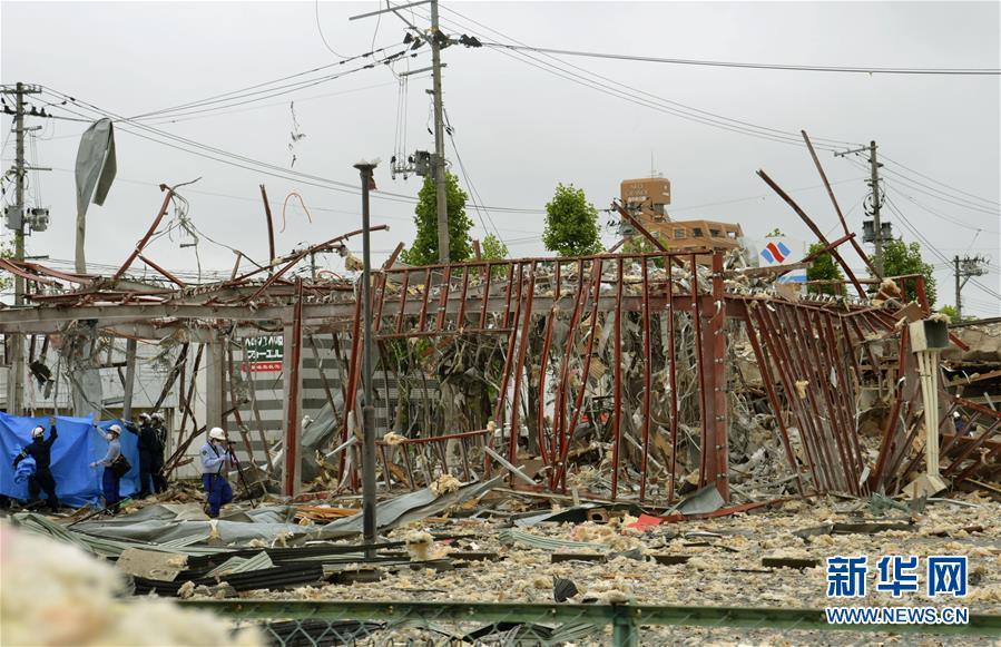 (國際)(2)日本福島縣一餐館發生爆炸致1死18傷