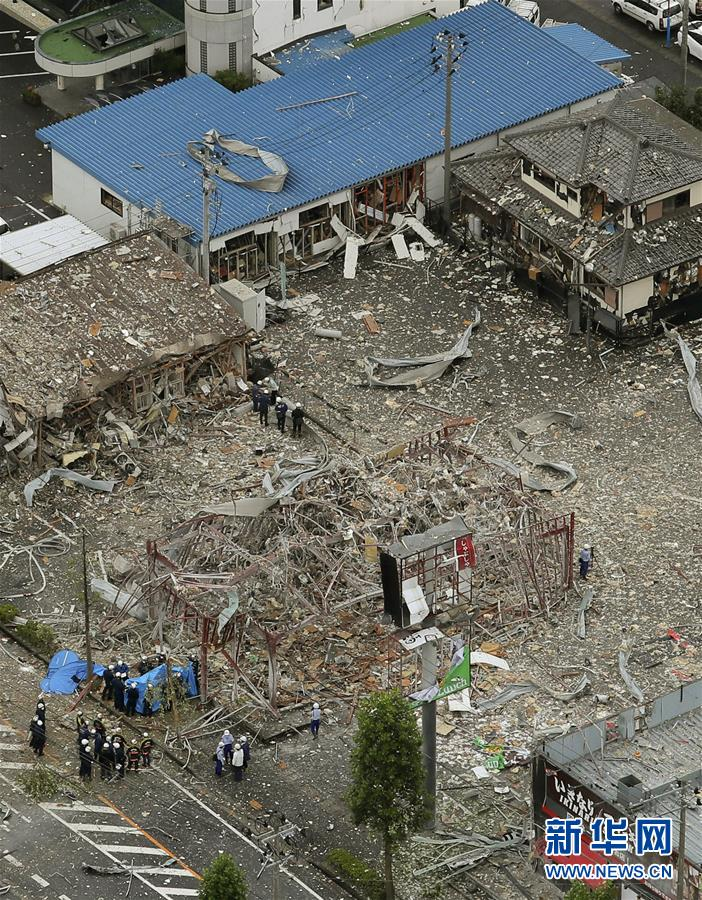 (國際)(1)日本福島縣一餐館發生爆炸致1死18傷