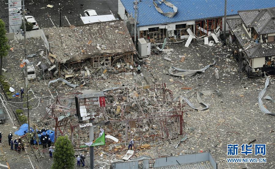 (國際)(4)日本福島縣一餐館發生爆炸致1死18傷