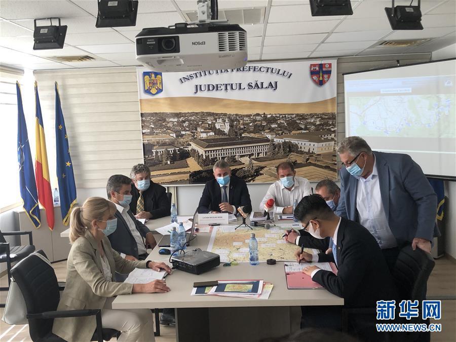 (國際)中國公司簽約羅馬尼亞西北部扎勒烏市繞城路項目