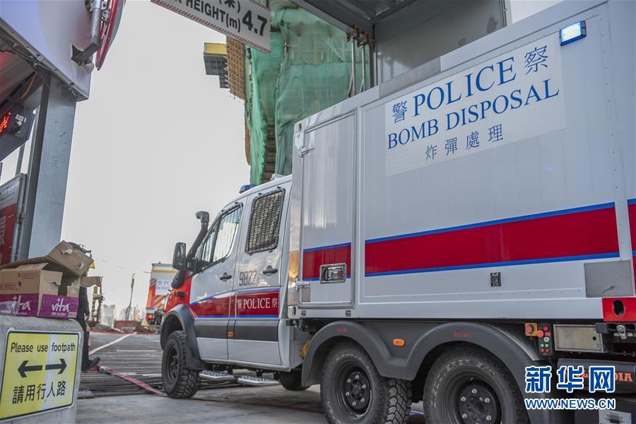 (港澳臺·香港故事·圖文互動)(4)用手觸摸二戰炸彈的人——訪香港警方拆彈專家