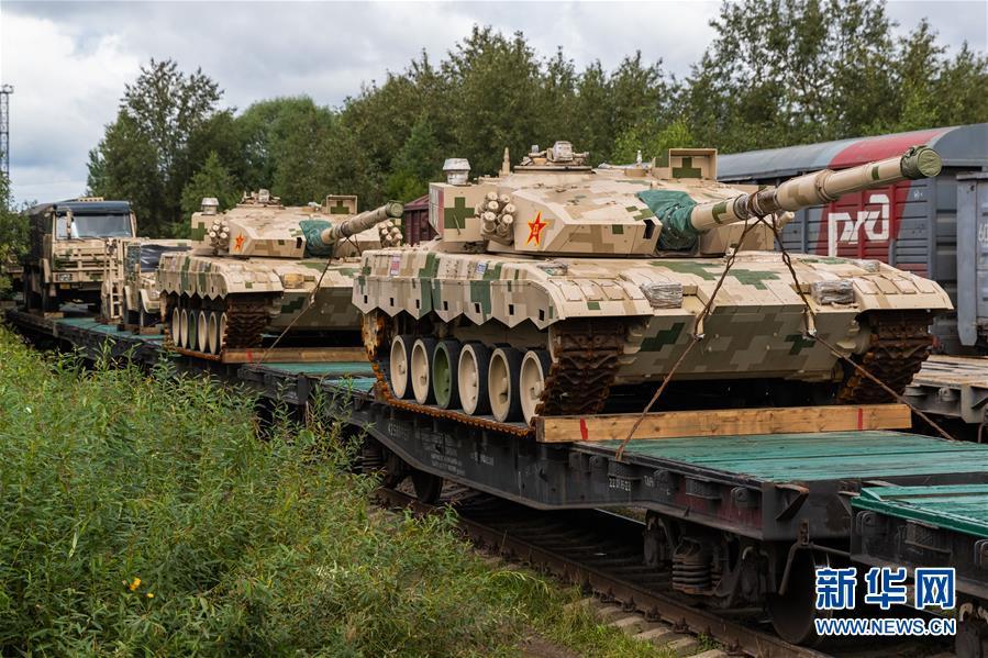 """(國際)(2)我軍赴俄參加""""國際軍事比賽-2020""""裝備運抵比賽場地"""
