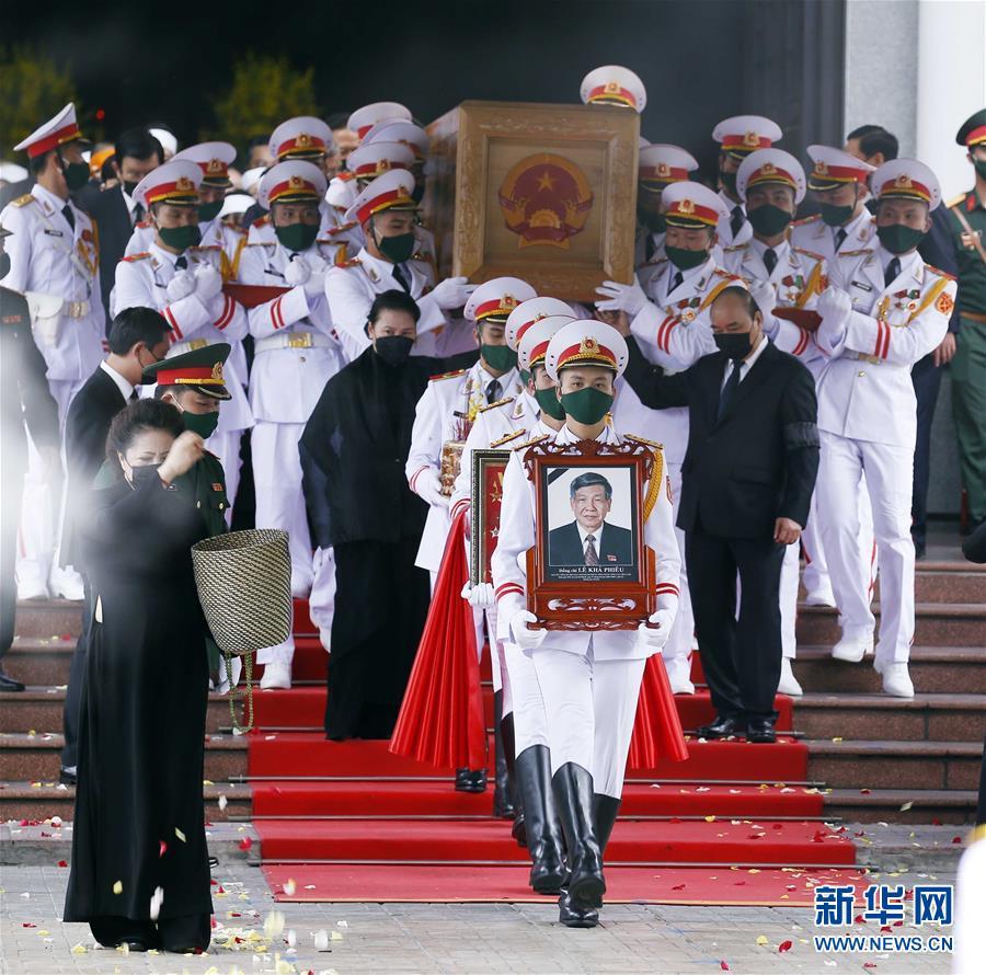 (國際)(2)越南為原越共中央總書記黎可漂舉行國葬