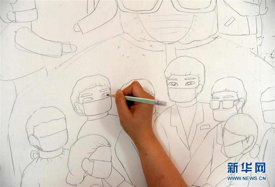 (走向我們的小康生活·圖文互動)(5)放下鋤頭拿畫筆——山東青州農民畫繪出美好新生活