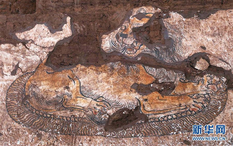 (圖文互動)(4)陜西:唐墓壁畫修復再現唐代生活場景