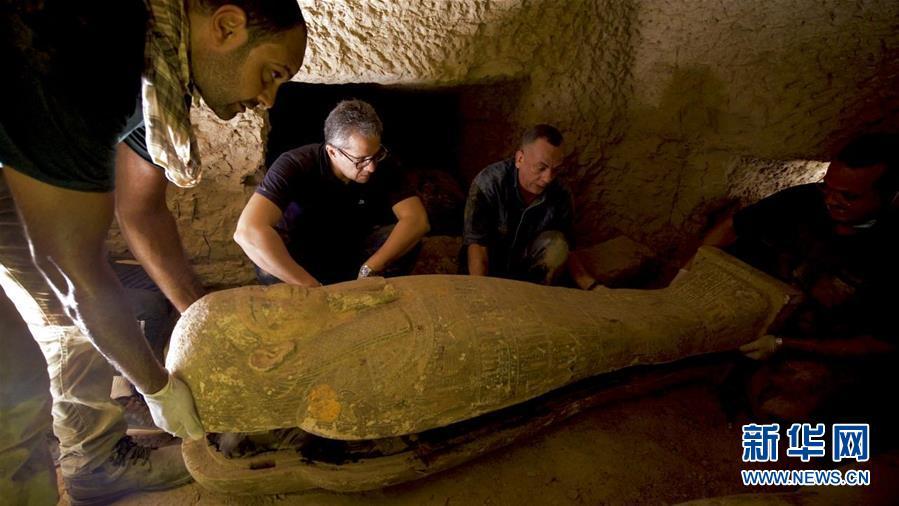 (國際)(2)埃及出土多具2500年前的木棺