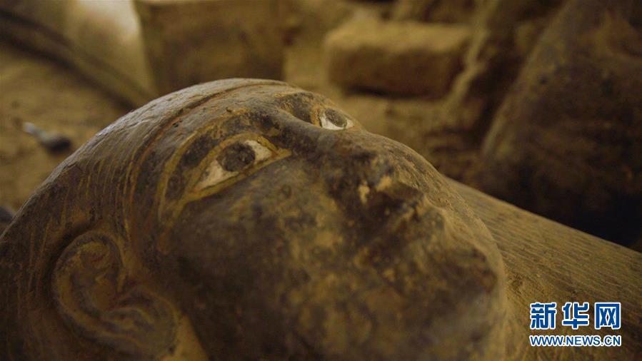 (國際)(3)埃及出土多具2500年前的木棺