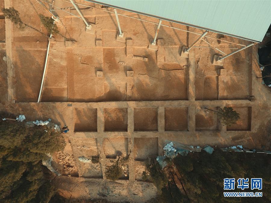 (圖文互動)(2)龍門石窟考古發現唐代塔基 初步推測為印度高僧墓塔
