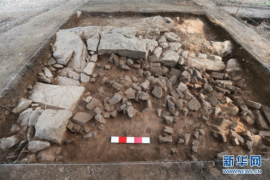 (圖文互動)(3)龍門石窟考古發現唐代塔基 初步推測為印度高僧墓塔