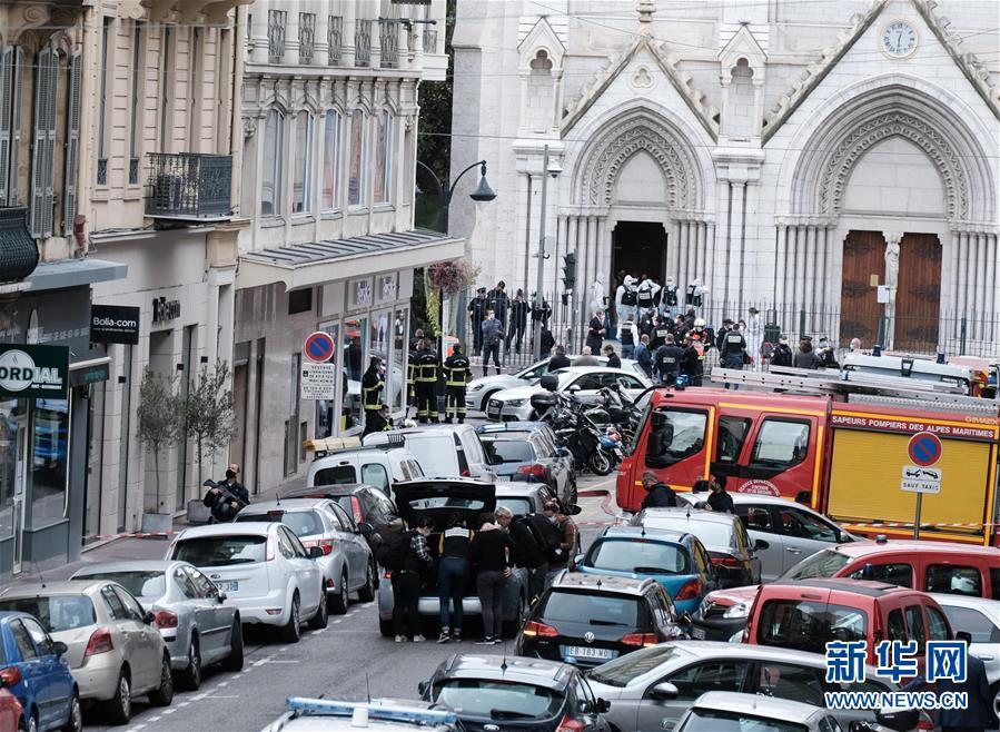 (國際)(1)法國尼斯發生持刀傷人事件 至少3人死亡