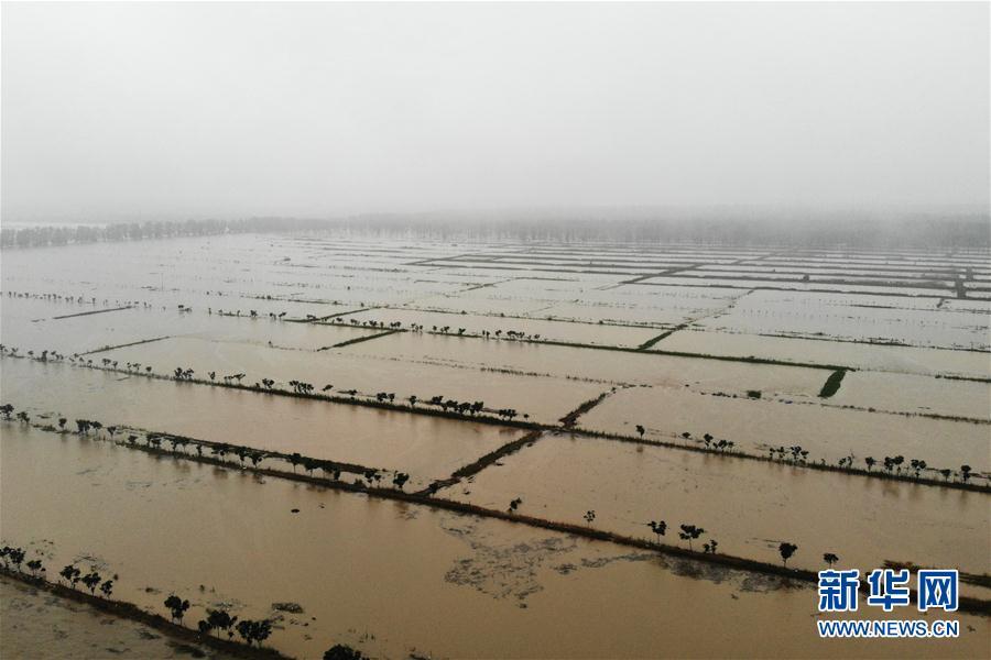 (防汛抗洪·圖文互動)(5)安徽滁河實施爆破泄洪 啟用兩處蓄洪區