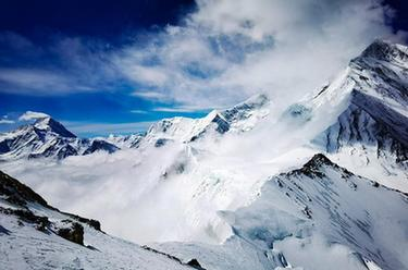 海拔7000米以上的壯美景色