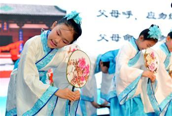 河北石家莊:傳統文化 共頌家風
