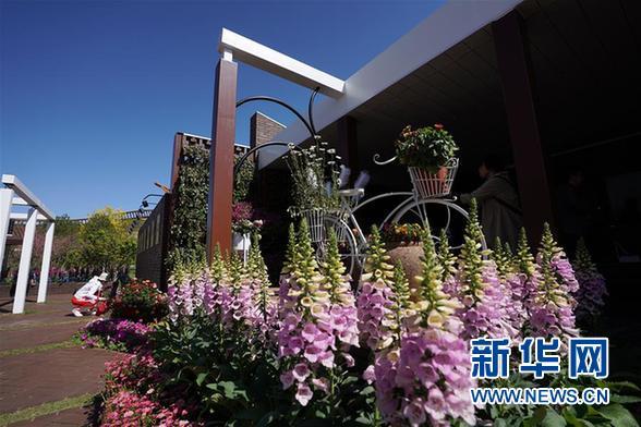 """(北京世园会)(2)北京世园会迎来""""天津日"""""""