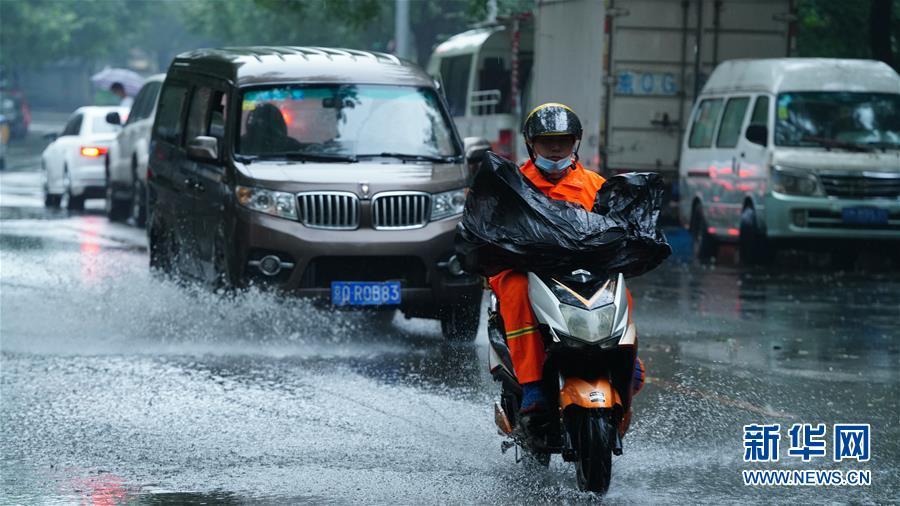 (社會)(1)北京迎來降雨