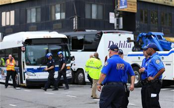 美國紐約發生客車相撞事故3人死亡