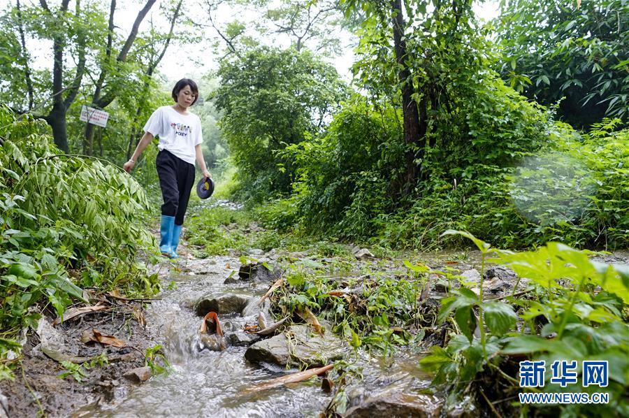 (圖片故事)(5)重慶永川:雨中逆行者 守護百姓安全的地質災害監測員