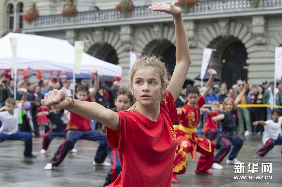 """(国际)(4)瑞士伯尔尼举行""""遇见中国""""文化活动"""