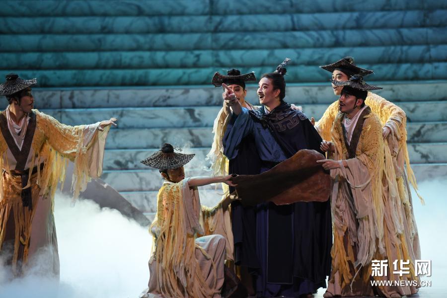 舞剧《彩虹之路》在兰州音乐厅演出