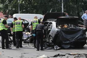 烏克蘭基輔一轎車發生爆炸一名軍人死亡